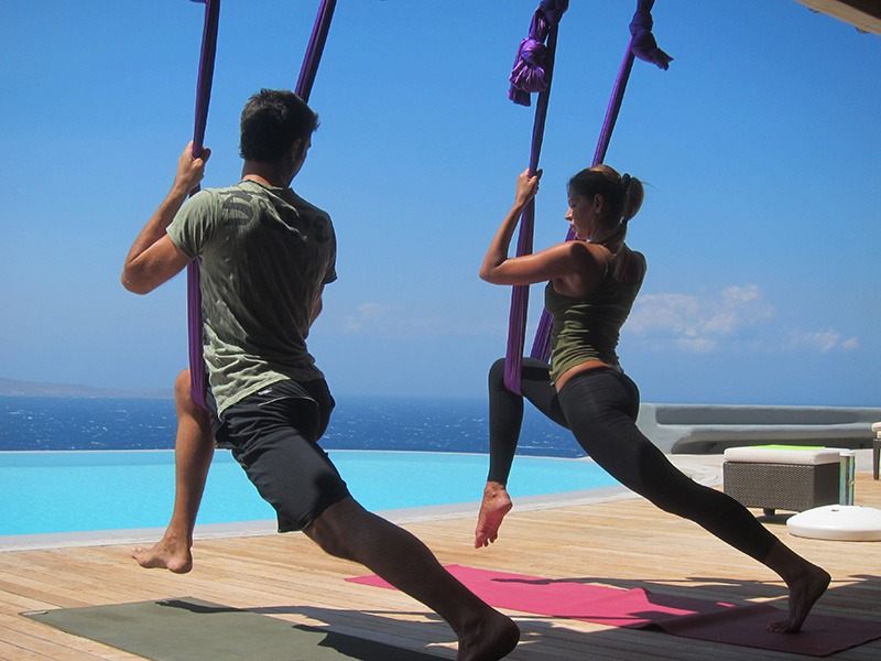 Yoga lessons Athens Greece